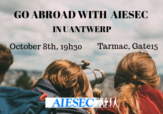 GO ABROAD WITH AIESEC IN UANTWERP